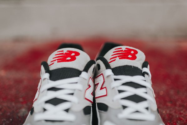 Chaussure New Balance M530LM Red Grey (5)