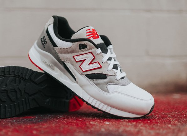 Chaussure New Balance M530LM Red Grey (6)