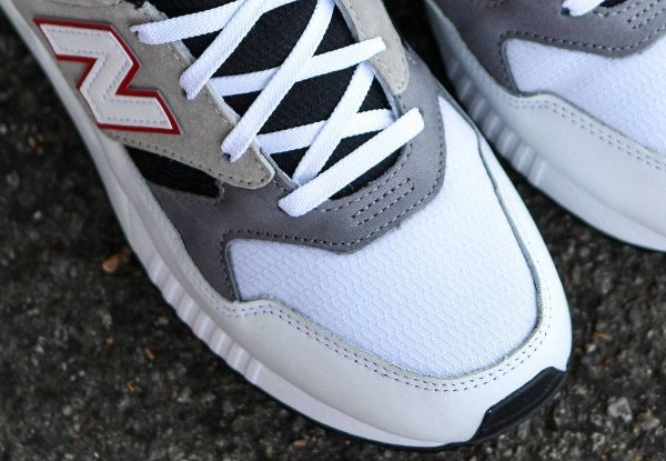 Chaussure New Balance M530LM Red Grey (7)