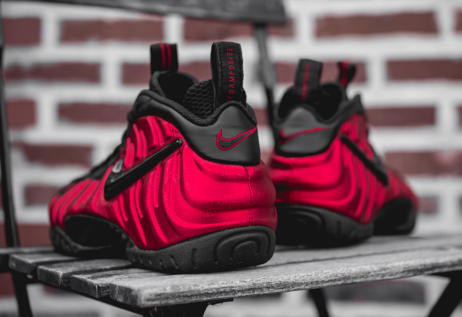 Chaussure Nike Air Foamposite Pro 'University Red' (3)
