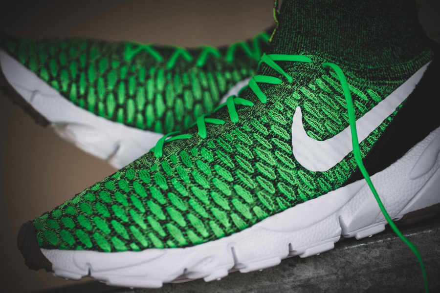 Chaussure Nike Air Footscape Magista Flyknit Poison Green (3)