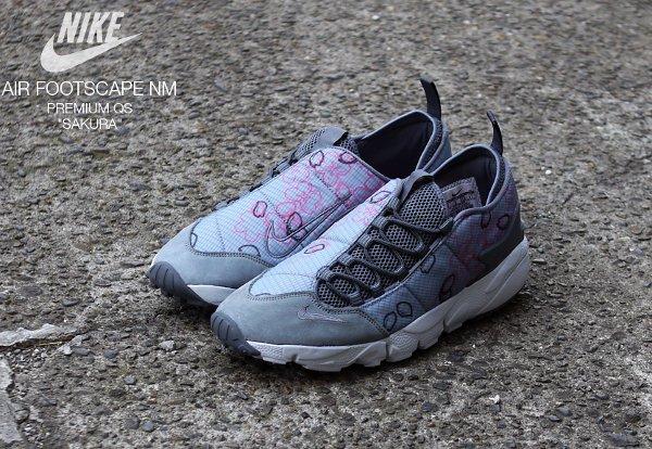 Chaussure Nike Air Footscape Natural Motion Sakura (Quickstrike) (1)
