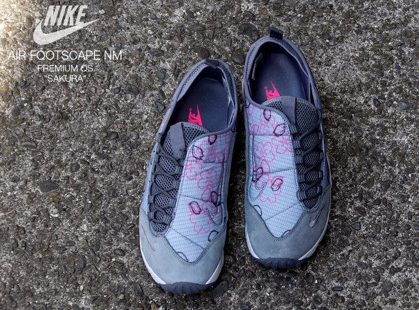 Chaussure Nike Air Footscape Natural Motion Sakura (Quickstrike) (2)