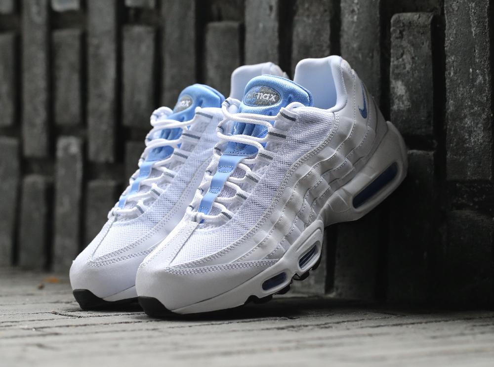 air max 95 blanche bleu