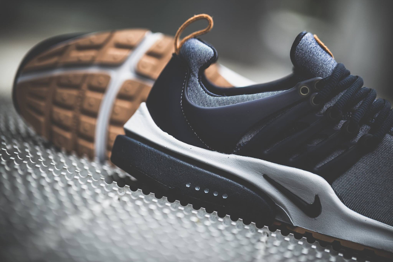 Nike Air Presto Prm Denim Obsidian Amp Grey Gum