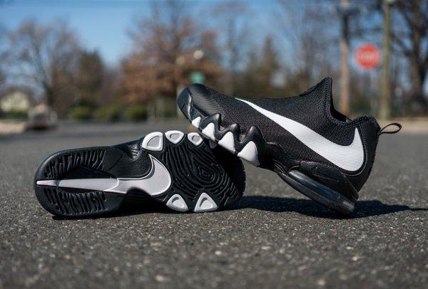 Nike Big Swoosh Black White = Zoom Flight 98 x Air Max CB 94