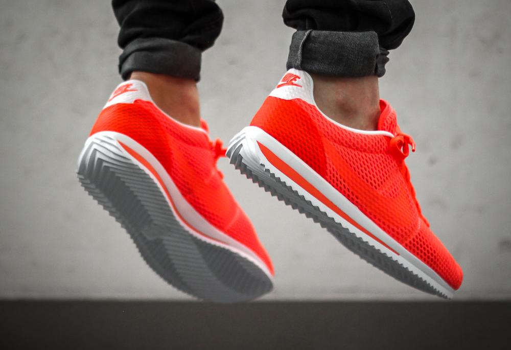 brand new 4ae92 fb1c6 Nike Cortez Ultra BR Breathe Black, Total Crimson & Pure ...