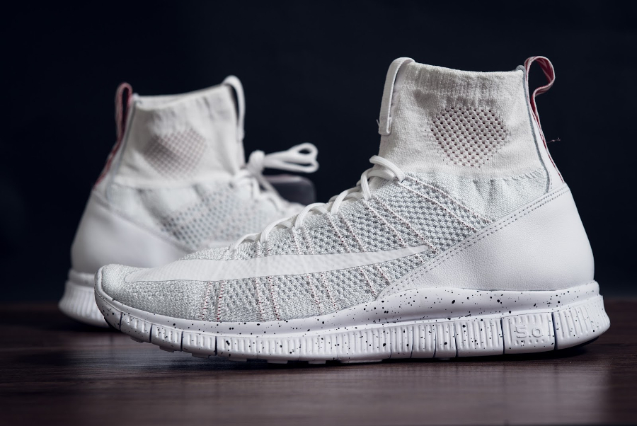 Chaussure Nike Free Mercurial Superfly 'All White' (1)