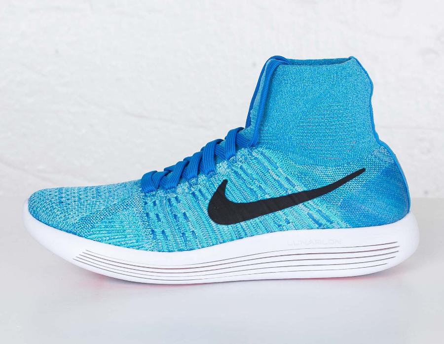 Chaussure Nike Lunarepic Flyknit Gamma Blue (3)
