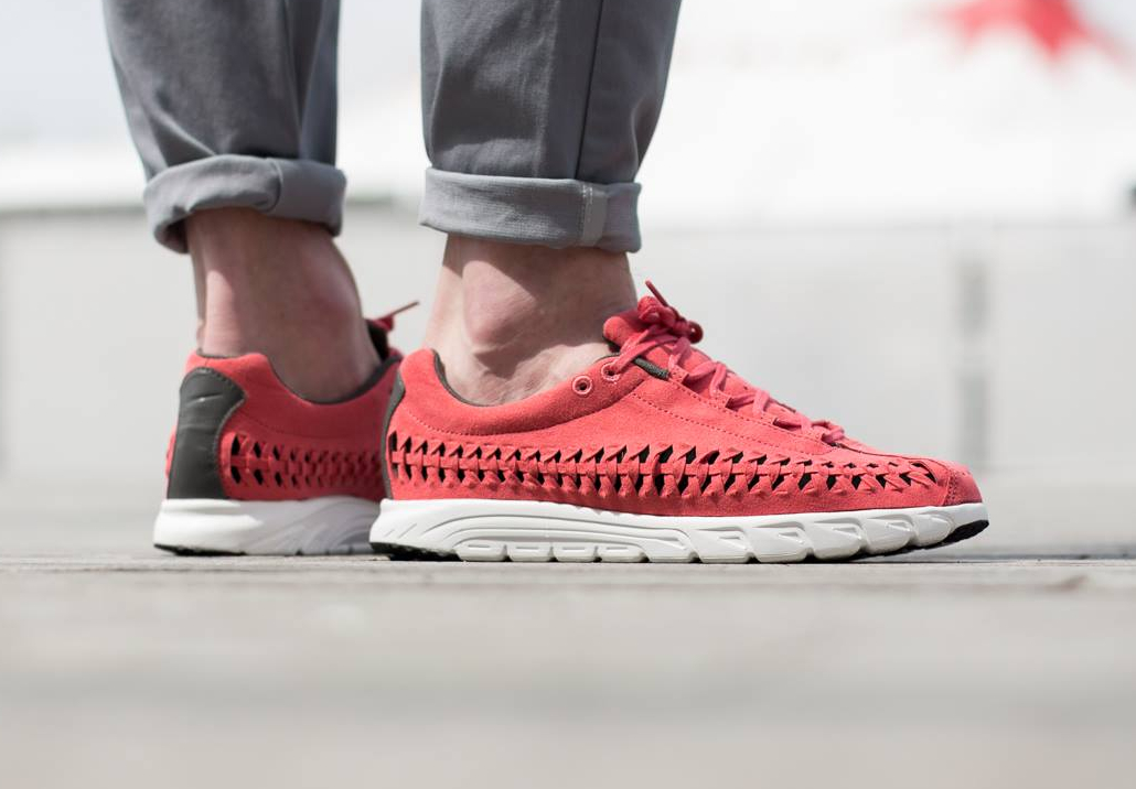 642a944ea5dfb4 Chaussure Nike Mayfly Woven QS (Terra Red Dark Bs Grey Summit White) (1