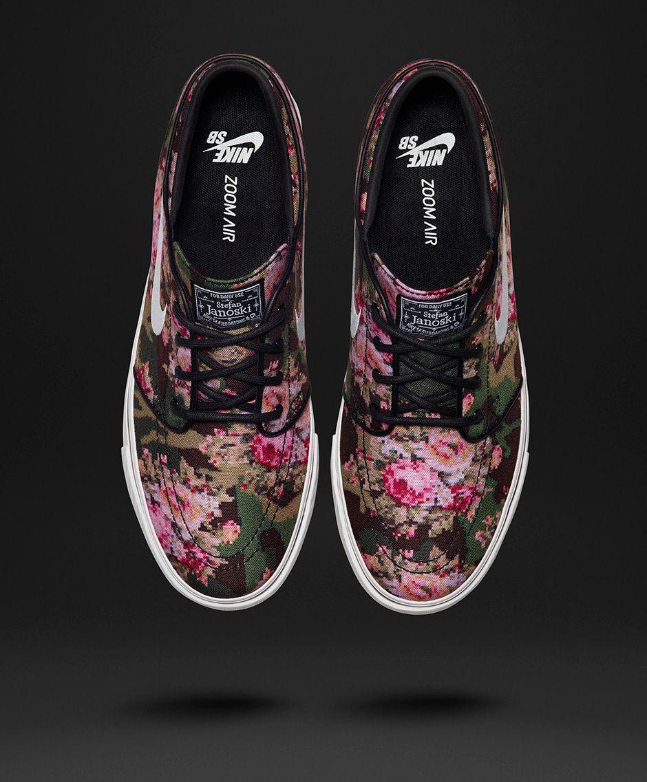 Chaussure Nike SB Stefan Janoski 'Digi Floral' 2016 (4)