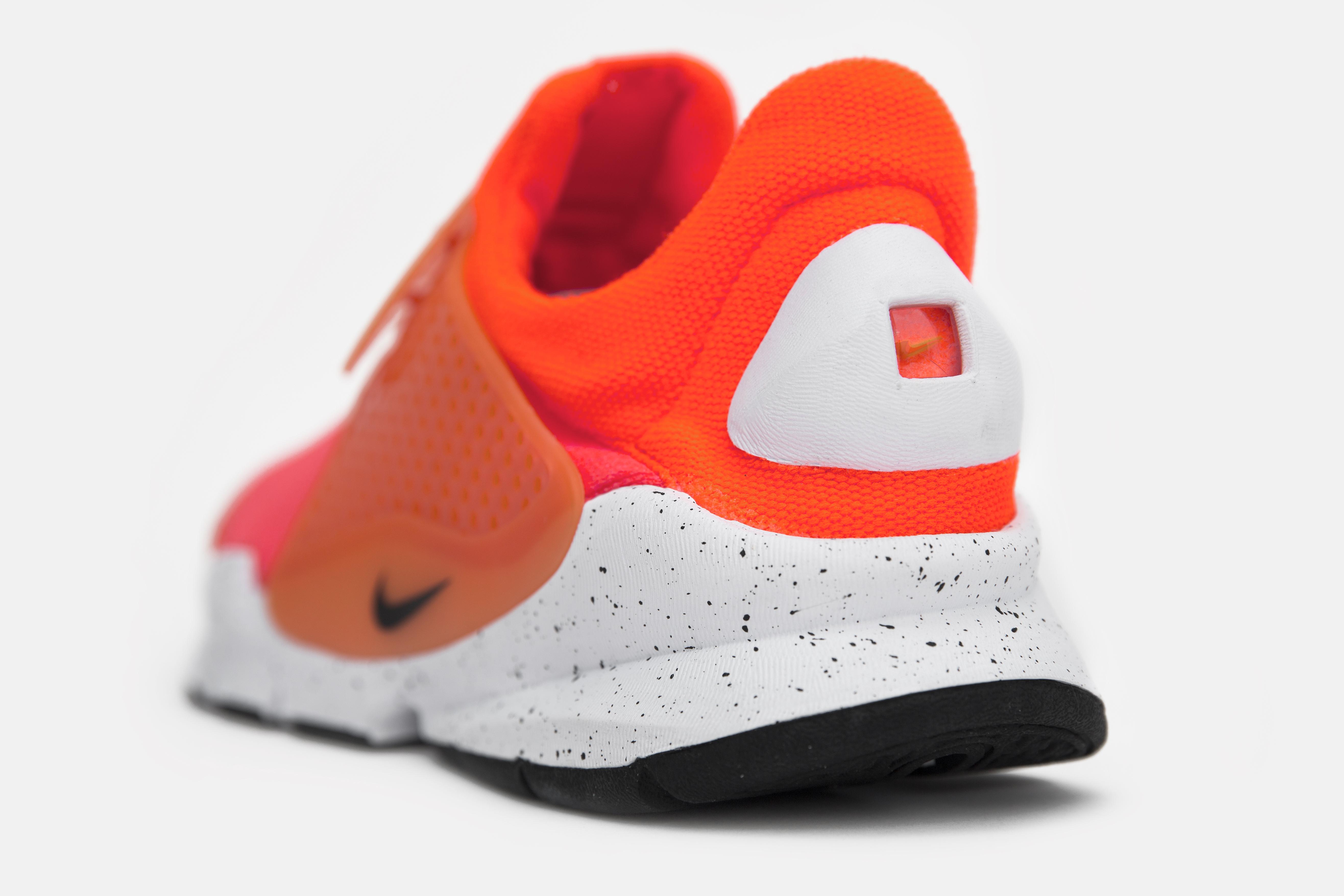 Chaussure Nike Sock Dart SE Total Crimson (4)