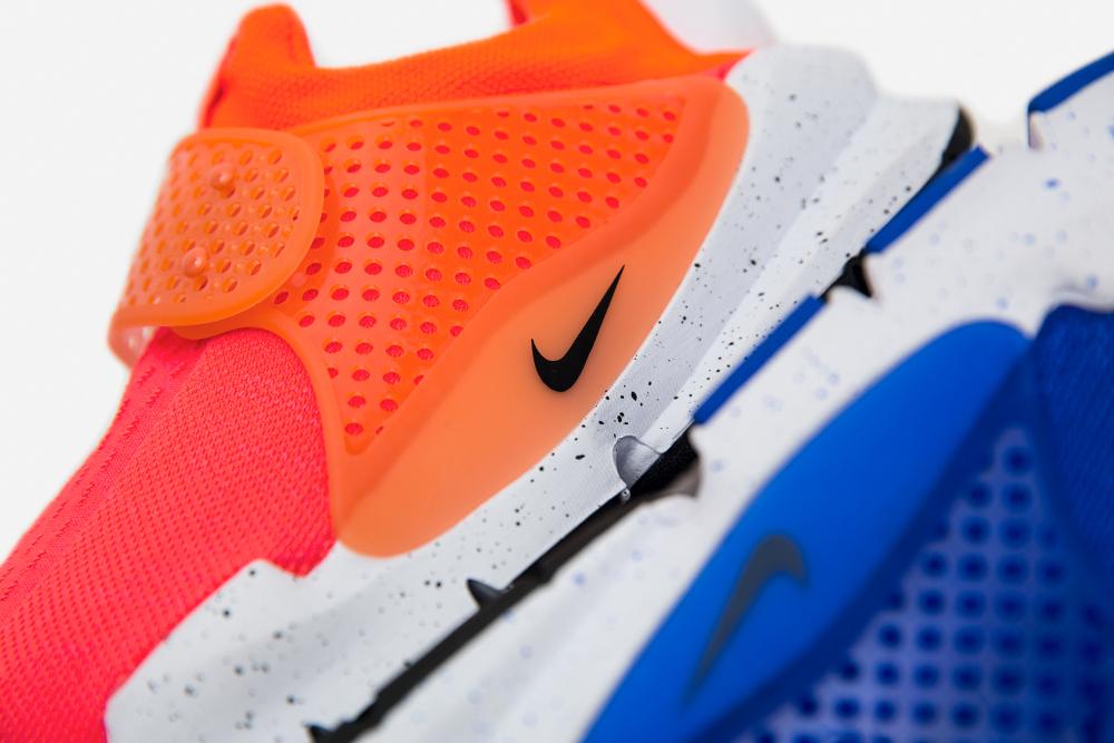 Chaussure Nike Sock Dart SE Total Crimson & Racer Blue (1)