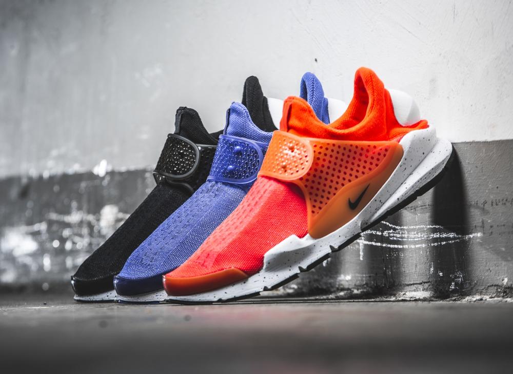 Chaussure Nike Sock Dart SE Total Crimson & Racer Blue
