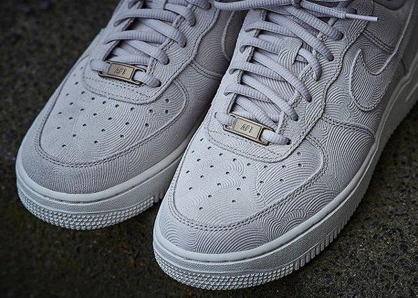 Nike Air Force 1 07' Low Suede PRM 'Gamma Grey Phantom'