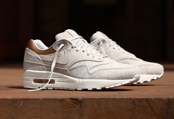 magasin en ligne dcf41 9b1aa Nike Air Max 1 PRM 'Gamma Grey Metallic Golden Tan'
