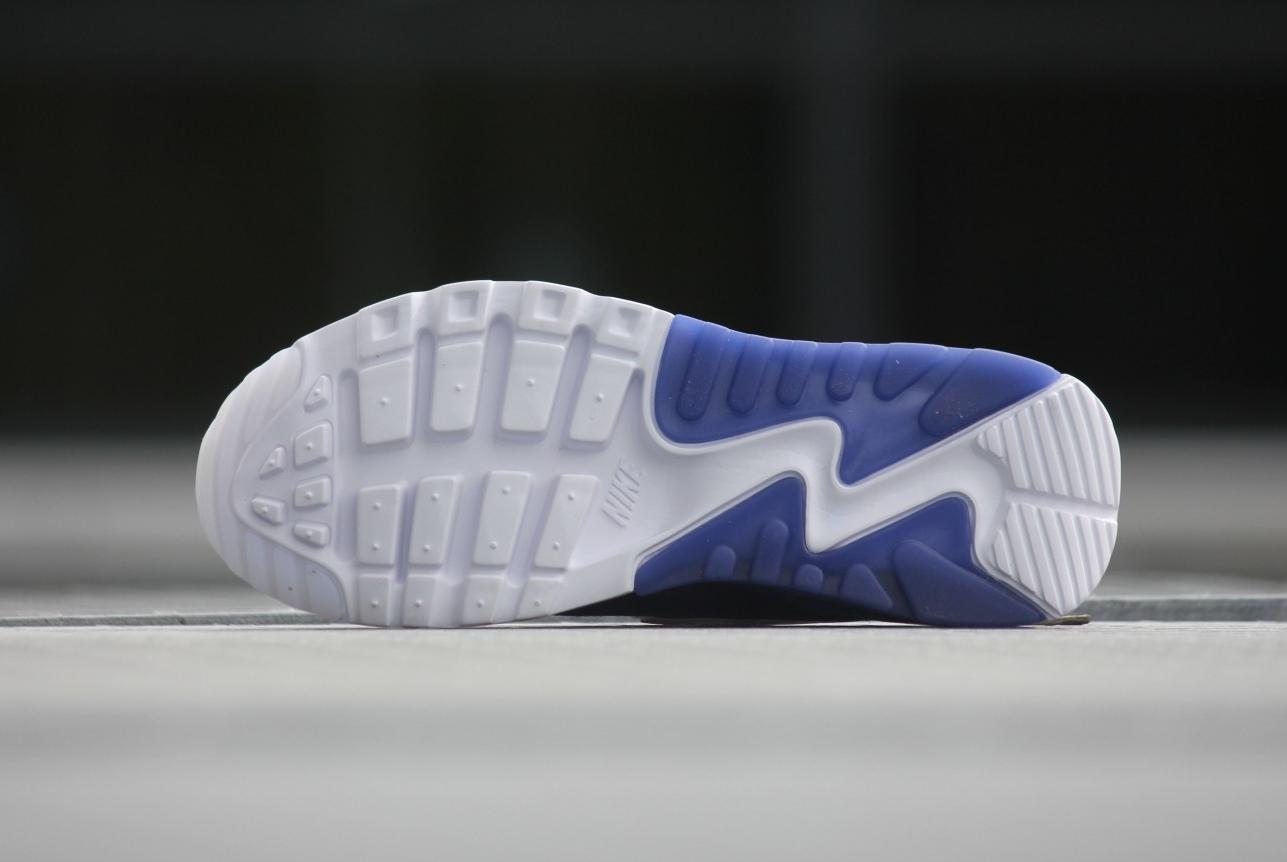 Chaussure Nike Wmns Air Max 90 Ultra Print 'White Dark Purple' (3)