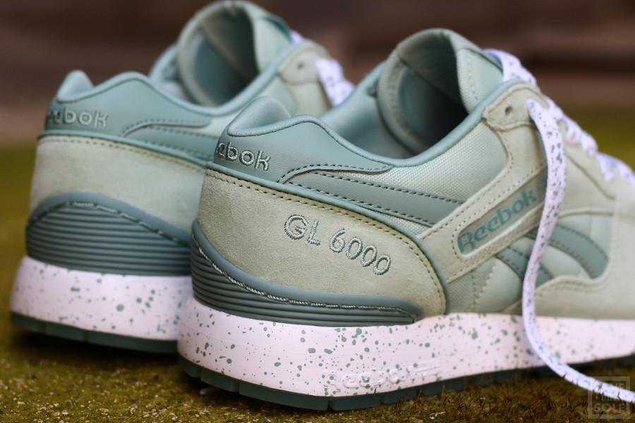 Chaussure Reebok GL 6000 Speckles & Ice Sage Mist vert menthe (femme) (3)