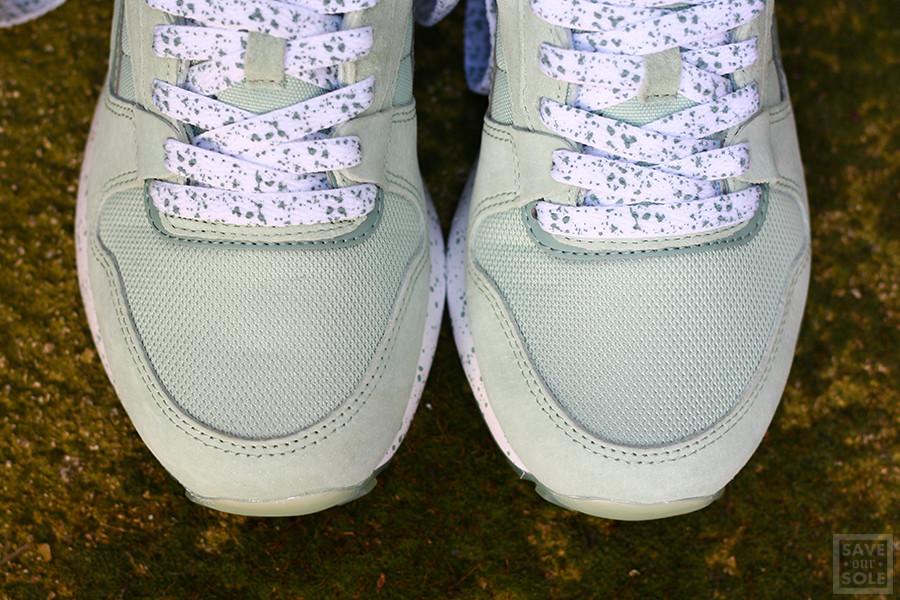 Chaussure Reebok GL 6000 Speckles & Ice Sage Mist vert menthe (femme) (4)