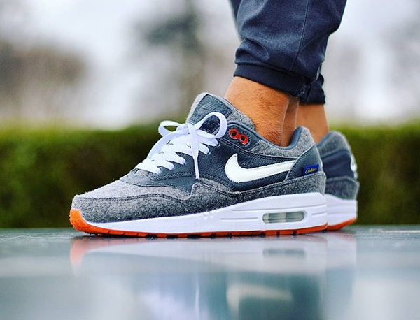 Nike Air Max 1 ID Orange Pendleton - @sjoemie84