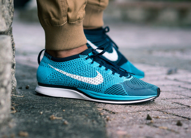 sports shoes 51c2c 50977 ... Nike Flyknit Racer Chlorine Blue - niwreig .
