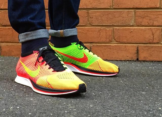 huge discount 19e06 749b0 Nike Flyknit Racer Hyper Punch - @numbersnz