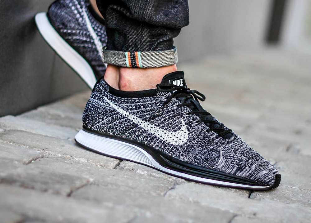 comment porter la nike flyknit racer. Black Bedroom Furniture Sets. Home Design Ideas