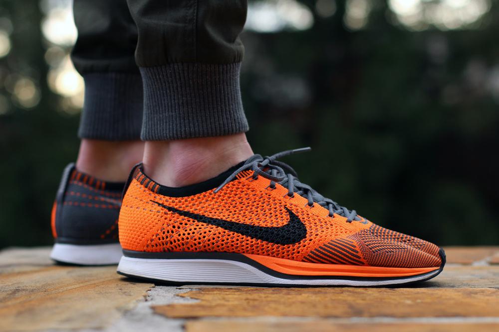 Nike Flyknit Racer Total Orange - @gtfan712