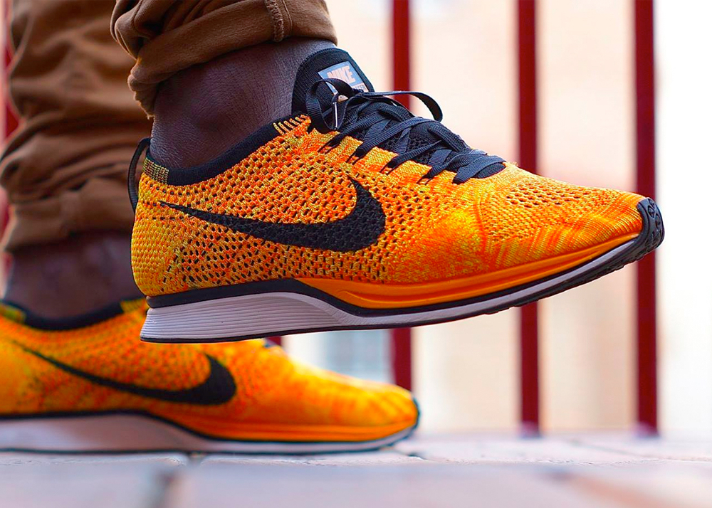 0c951f1d67112 ... where to buy available now nike flyknit racer total orange nike flyknit  lunar 3 limited edition