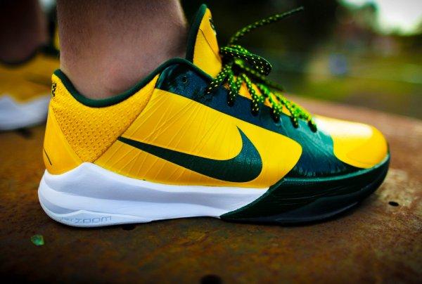 Nike Kobe 5 Rice - KCbruins