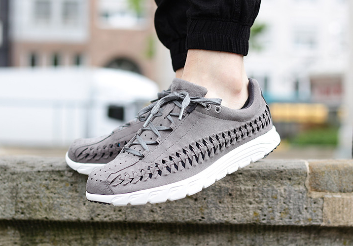 Nike Mayfly Woven Tumbled Grey (grise) (1)