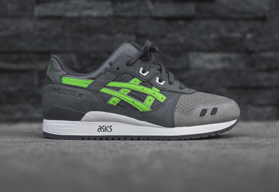 Ronnie Fieg x Asics Gel Lyte III 'Super Green'