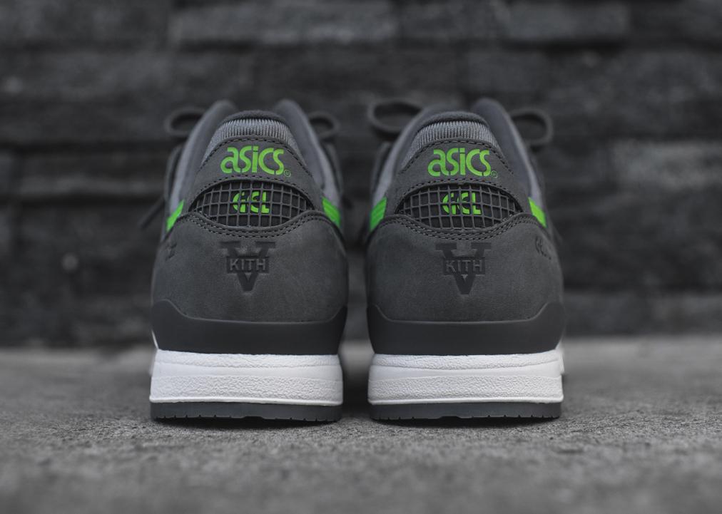 Ronnie Fieg x Asics Gel Lyte III 'Super Green' Kith 5th anniversary (2)