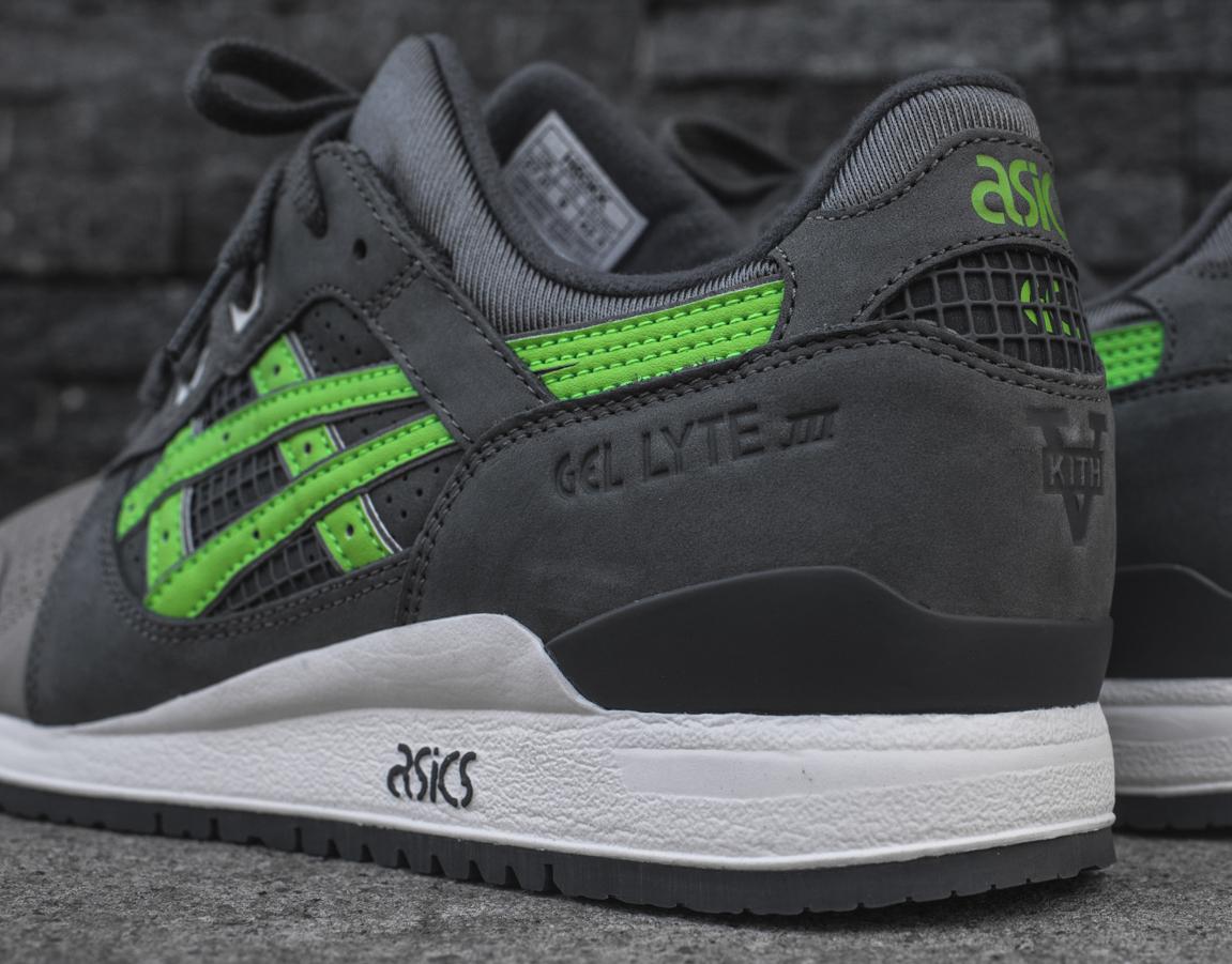 Ronnie Fieg x Asics Gel Lyte III 'Super Green' Kith 5th anniversary (3)