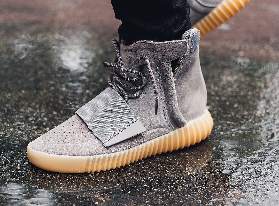Adidas Yeezy 750 Boost 'Grey Gum' (glow in the dark) (5)