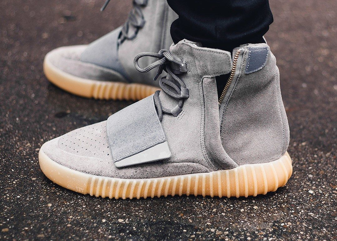 Adidas Yeezy 750 Boost 'Grey Gum' (glow in the dark) (7)