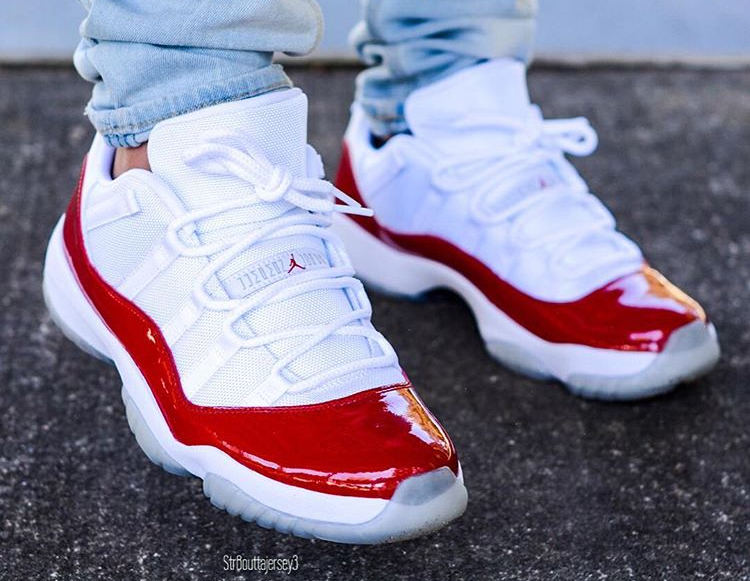 Air Jordan 11 Low Retro Cherry 2016 (3)