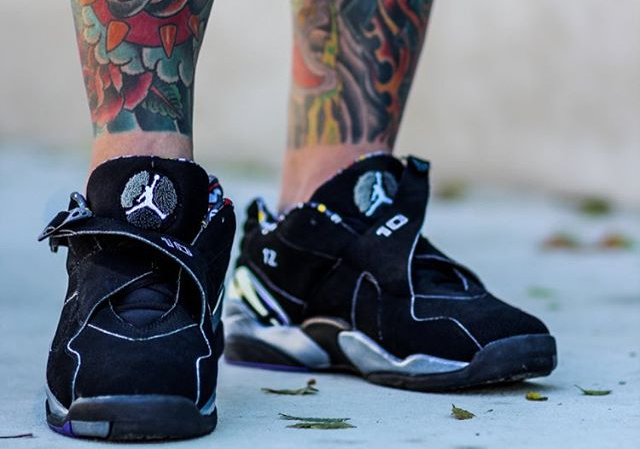 Air Jordan 8 Low PE Bibby - @bigdealphil_