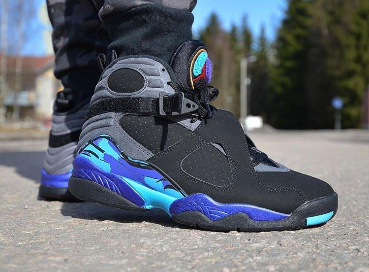 Air Jordan 8 Retro Aqua - @freshsole_tre