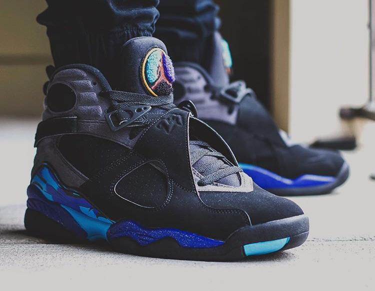 Air Jordan 8 Retro Aqua - @kickgame77