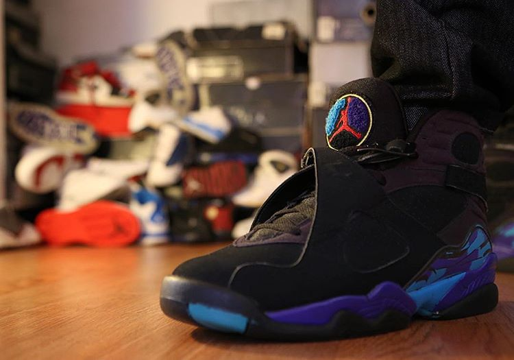 Air Jordan 8 Retro Aqua - @srg23