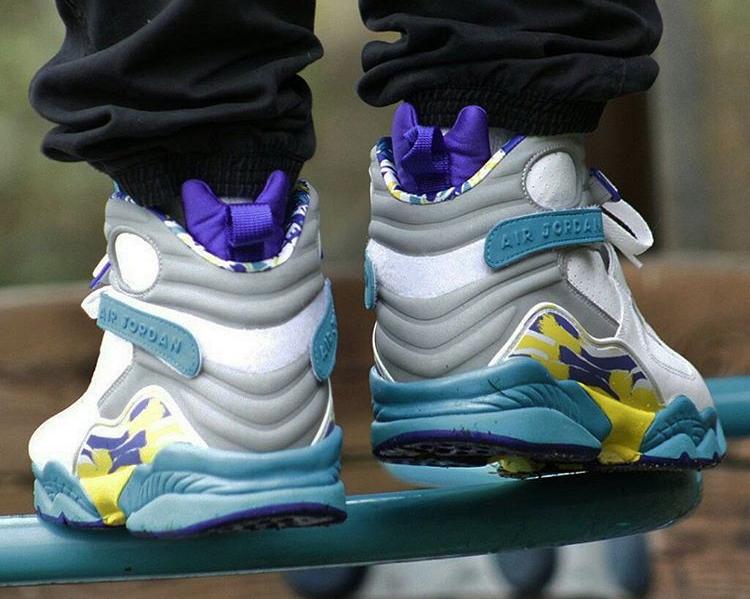 Air Jordan 8 Retro Aqua Tone - @bboylaspin (1)