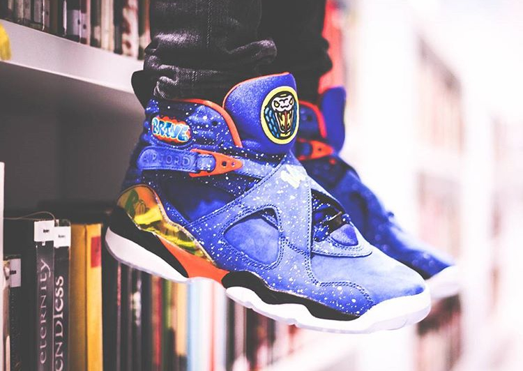 Air Jordan 8 Retro Doernbecher - @mind_13