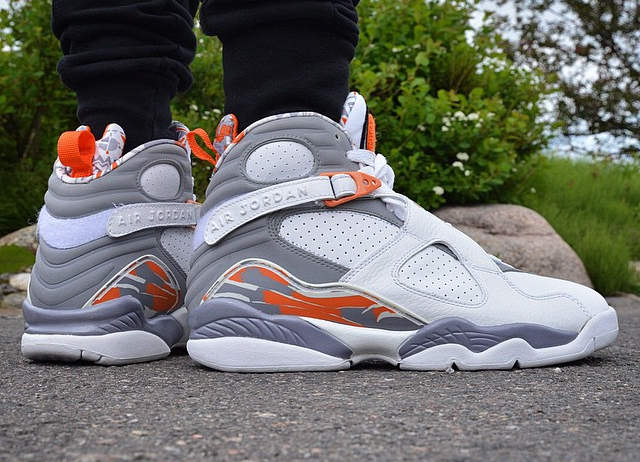 Air Jordan 8 Retro Orange Blaze - @freshsole_tre (1)