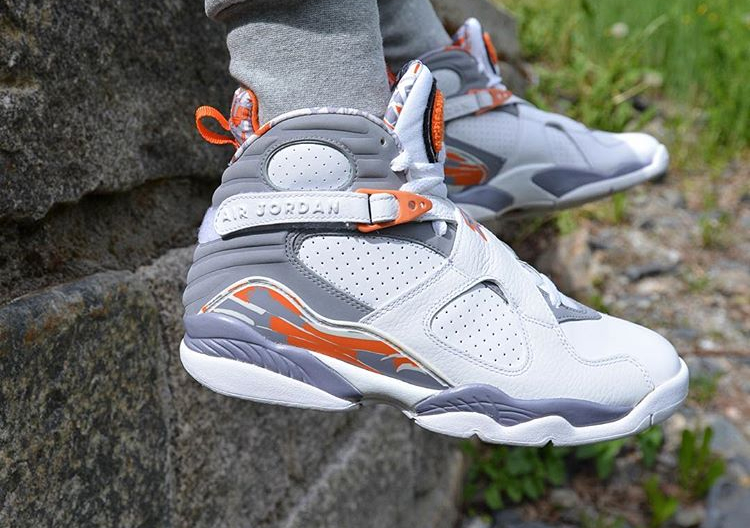Air Jordan 8 Retro Orange Blaze - @freshsole_tre