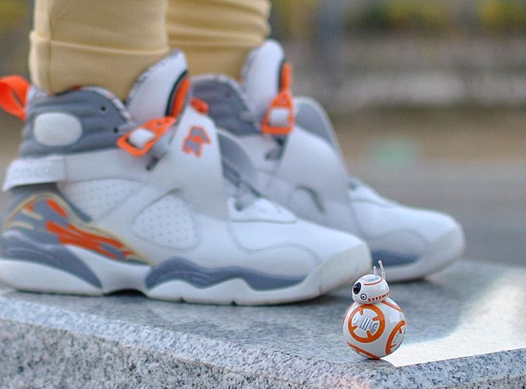Air Jordan 8 Retro Orange Blaze - @japanesediva2
