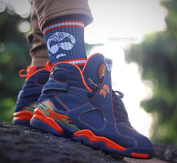 Air Jordan 8 Retro Pea Pod - @freaky.sneaks