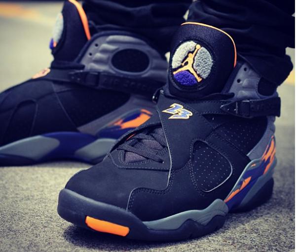 Air Jordan 8 Retro Phoenix Suns - @dais_hatta