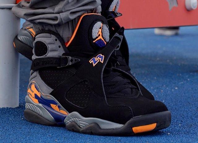 Air Jordan 8 Retro Phoenix Suns - @elogary95