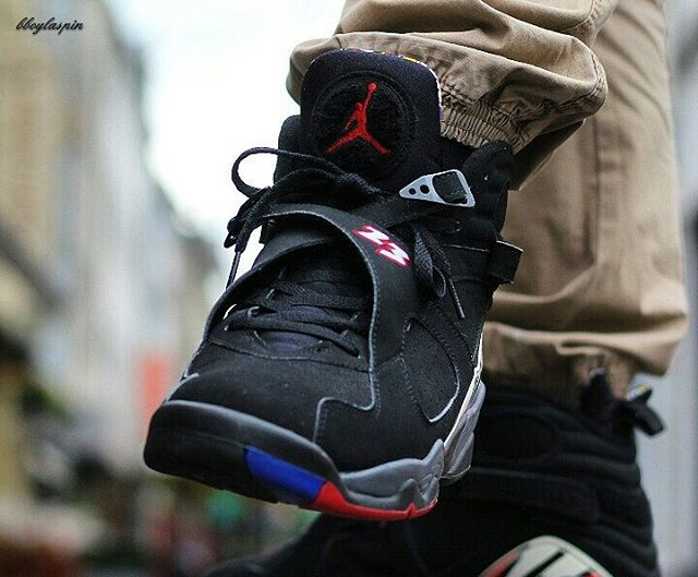 Air Jordan 8 Retro Playoff (modèle de 2007) - @bboylaspin (2)